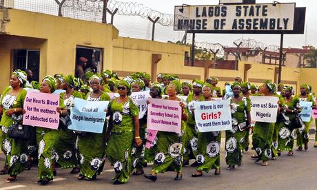 Protest Over Abducted Nig 009