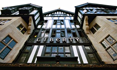 Liberty department store in London