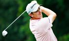 Justin Rose tees off at Sawgrass