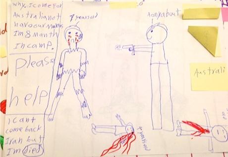 tony abbott children drawing