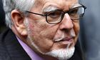 Entertainer Rolf Harris arrives at court for his trial for  indecent assault
