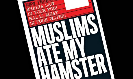 Muslims ate my hamster front page