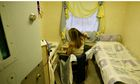 An inmate in her cell at Brockhill women's prison in Redditch, Worcestershire.