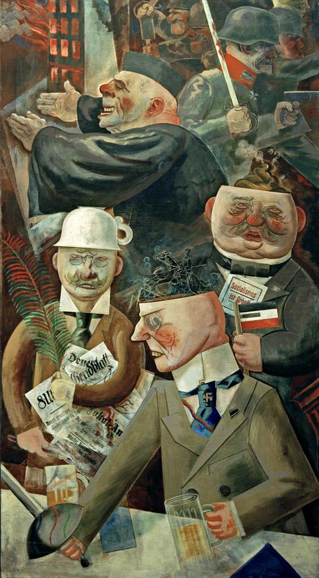 george grosz dada Came to the berlin dada movement in 1918 edited the periodicals die pleite ( bankruptcy) together with wieland herzfelde jeder sein eigener fussball.
