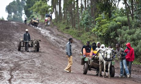 Farmers in Hulbera, Kofele.