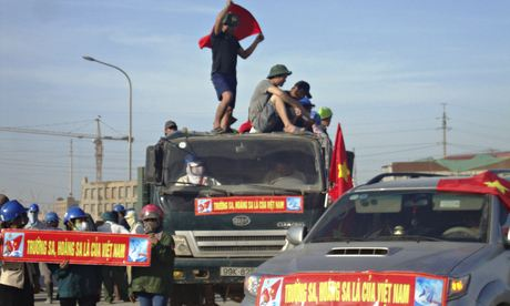 Vietnam protesters Formosa steel mill in Ha Tinh province