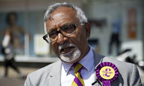 Ukip candidate Amjad Bashir