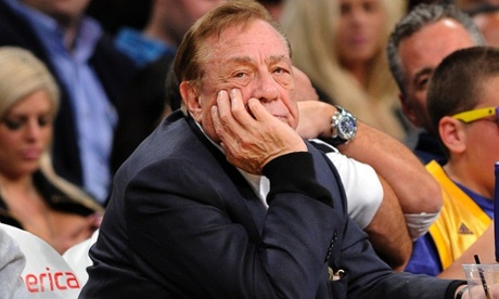 Donald Sterling, the Clippers basketball team owner caught on video making racist remarks.