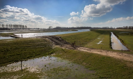 The Noordwaard polder in Werkendam is one of the key areas of the national Room for the River project.