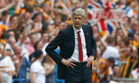 Arsène Wenger: not enjoying this much.