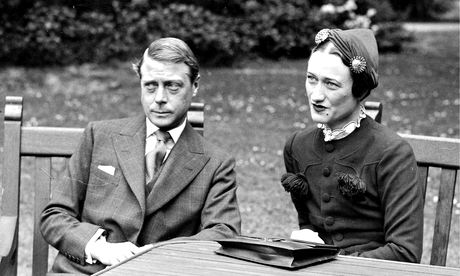 The Duke of Windsor, formerly King Edward VIII, with Wallis Simpson