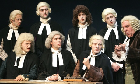 The Board of Longitude brought to life at Greenwich Theatre in 2005.