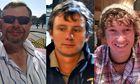 Steve Warren, Andrew Bridge and James Male