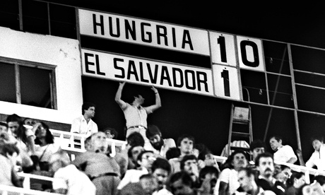 Hungary - El Salvador 1982 FIFA World Cup: