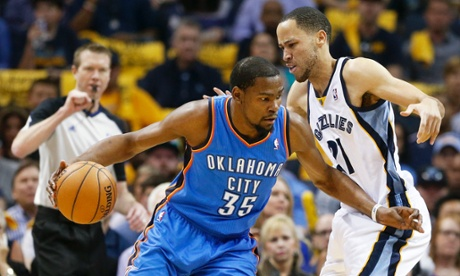 Mr. Unreliable? Kevin Durant was nothing of the sort during the Oklahoma City Thunder's Game 6 victory over the Memphis Grizzlies on Thursday night. Durant lead all Thunder scorers with 36 points.