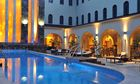 A swimming pool in the Protea hotel in Ikeja