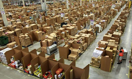Amazon's homeless workers