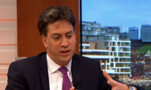 Ed Miliband on ITV's Good Morning Breakfast