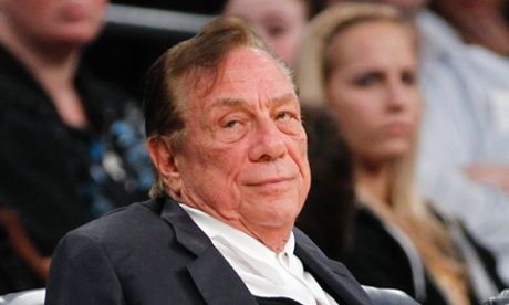 Los Angeles Clippers owner Donald Sterling.
