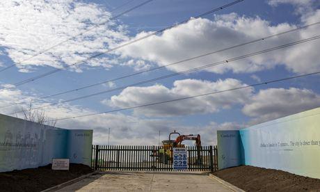 Proposed site of Ebbsfleet Garden City in Kent