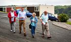 Labour party canvassers on the Southway estate in Plymouth