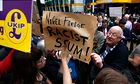 Anti Ukip demonstration