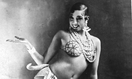 (Foto):Josephine Baker quien compartió con Andrade el apodo de