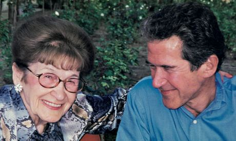 Lord Browne with his mother