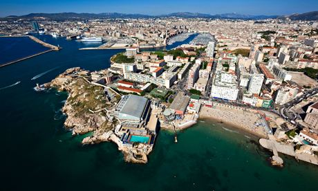 Marseille's darker side – poverty, drugs, organised crime and police corruption – is grist to the mill of crime fiction. Photograph: Alamy