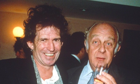Keith Richards and Rupert Loewenstein