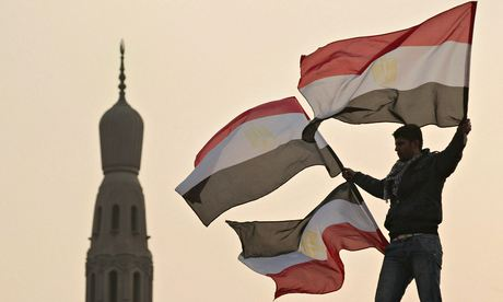 This downward pressure on rights and wages was a key element in provoking the Arab uprisings in late 2010 and early 2011'. Photograph: Peter Macdiarmid/Getty