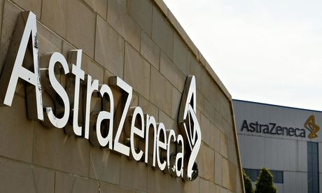 AstraZeneca sign in Macclesfield