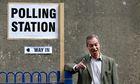 Nigel Farage polling station