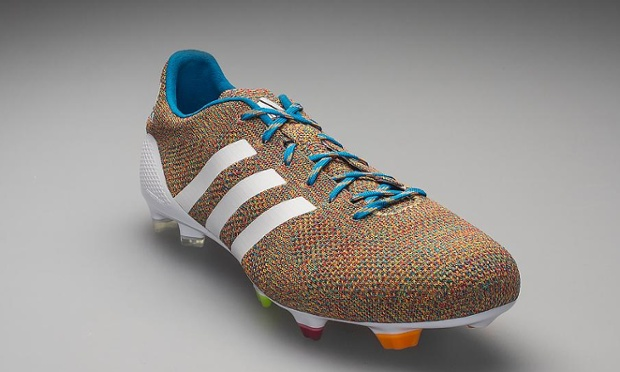 knitted football boots