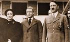 Edward VIII with Hitler in 1937
