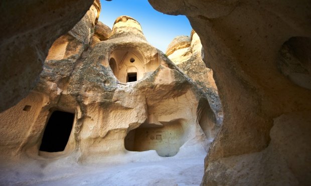 Church in Zelve, Cappadocia