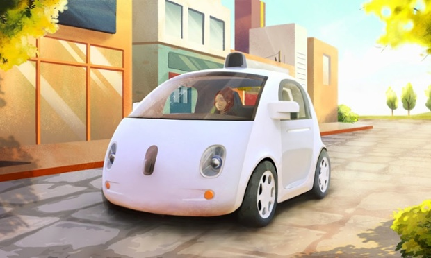 Drive Google Maps Car Google's Self-driving Car How