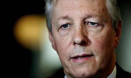 Peter Robinson, first minister of Northern Ireland