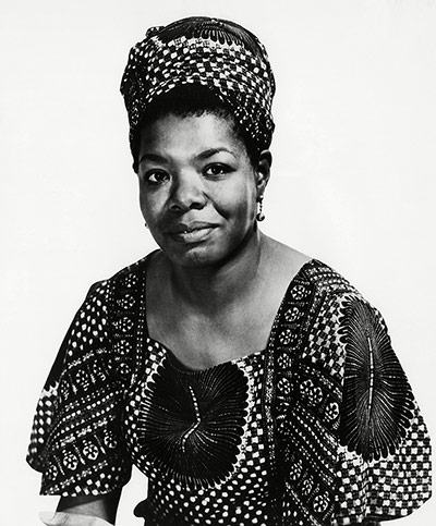 Maya Angelou in pictures: Maya Angelou - 1972