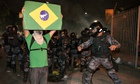 Protest in Rio de Janeiro