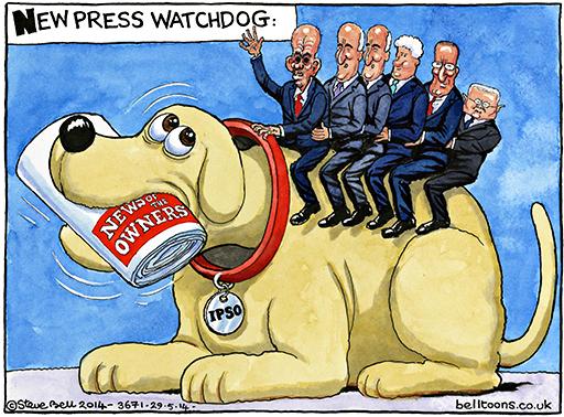 Ο νέος ''φύλακας'' των βρετανικών μέσων ενημέρωσης...