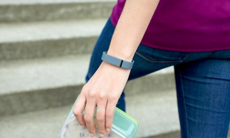 The Fitbit Force, pumping out shareable data all day and night.