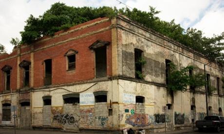 empty building in Tampico, Mexico