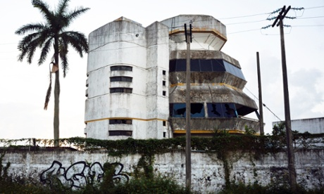 Derelict building in Tampico, Mexico