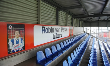 Robin van Persie's first club, Excelsior, has named a stand after the Holland international striker.