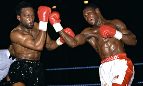 Chris Eubank and Nigel Benn