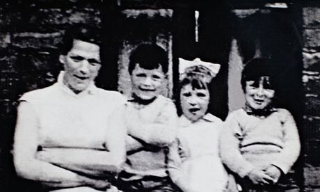 Jean McConville with some of her children including Helen McKendry