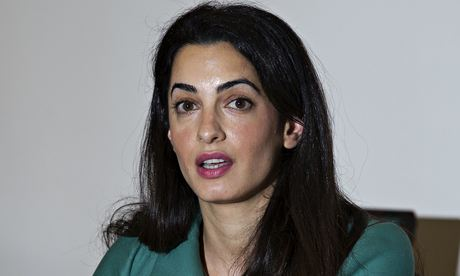 Lawyer Amal Alamuddin