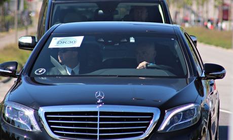 Bilderberg conference: delegates arrive