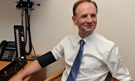 NHS England's new chief executive Simon Stevens